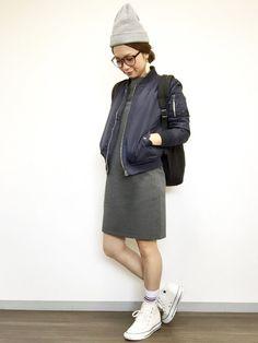 ユニクロのワンピース「WOMEN リップルワンピース(7分袖)」を使ったkanaのコーディネートです。WEARはモデル・俳優・ショップスタッフなどの着こなしをチェックできるファッションコーディネートサイトです。