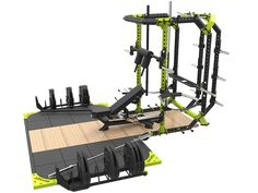 Titan fitness Thd Line Rack Home Gym Basement, Gym Room At Home, Fitness Planner, Workout Planner, Dream Home Gym, Crossfit At Home, Gym Machines, Home Gym Design, No Equipment Workout