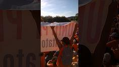 Gianluigi Paragne parla a 40.000 persone alla manifestazione di Pesaro  ...