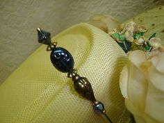EGYPTAIN STYLE CARNIVAL SCARAB ANTIQUED FINISH HATPIN