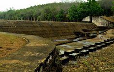 Chandaka water reservoir during summer..