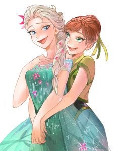 Drawing of Frozen Fever