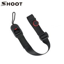 SHOOT Quick Release Leash Cuff Hand Strap Sling with Buckle for Nikon Sony Canon Digital Gopro 4 3+ Session SJCAM SJ4000 Camera(China (Mainland))