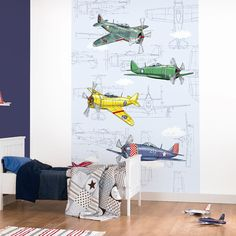 Fly Away Wall Art Mural from Tangletree Interiors