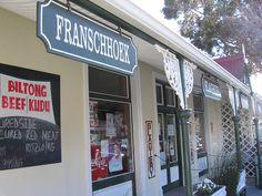 Franschhoek town