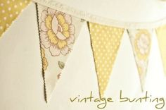 bunting !!! by gabrielle