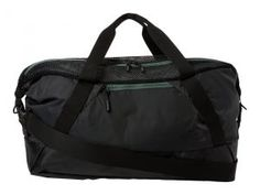 The North Face Apex Gym Duffel Bag Medium (Asphalt Grey/Duck Green) Duffel Bags