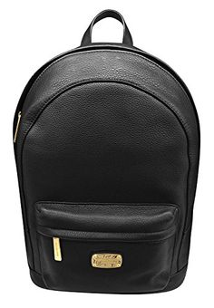 Michael Kors Large Jet Set Leather Backpack Black >>> Find out more about the great product at the image link.