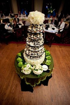 "Wedding cupcake stand AMAZING The ""Rachel"" on the big day!"
