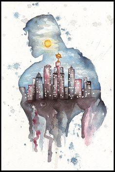 Metropolis by MiraPau on deviantART
