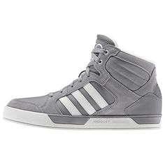 The adidas NEO Label BBNEO Raleigh shoes take a classic basketball-style shoe and work in a full grain leather and suede upper for a street-ready look. They feature a textile lining and a pivot point outsole.