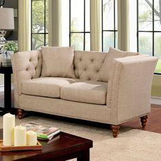 Furniture Of America Imani Love Seat CM6860-LV