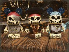 Skeleton Pirate Vinylmation #vinylmation #disney