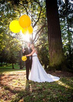 Свадебное вдохновение: воздушные шары