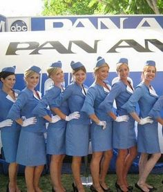 Pan Am Stewardess || Kathryn, do you have any photos of us back in the pre-digital 90's?! Karen wants us to create a joint F/A board - would be fun to have pics of us in the mix!