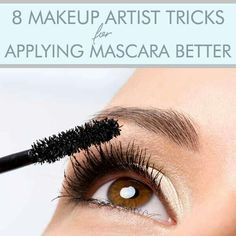 "#1) ""Apply mascara on the bottom lashes first. Then apply mascara on the upper lashes, but start from the inside corner. I place the brush to the lid, curl the brush downward, then pull the brush upward."" – Freelance Makeup Artist Brandy Gomez-Duplessis   #2) ""Always go vertical and then flip horizontal to really get every lash and make them full."" – Celebrity Makeup Artist Elle Leary   #3) ""Look down at the mirror to do the top lashes and you won't get mascara everywhere."" – Celebrity…"