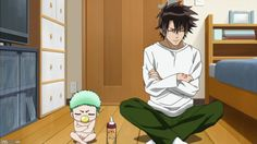 Beelzebub. It never fails to make me laugh. (I like the manga better somehow ._.)