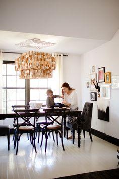 Photography: Ashlee Raubach - ashleeraubach.com  Read More: http://www.stylemepretty.com/living/2014/03/19/black-white-home/