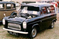 100E Ford Thames van.