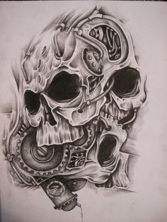 Hot rod skull piston - Szukaj w Google                                                                                                                                                      Plus