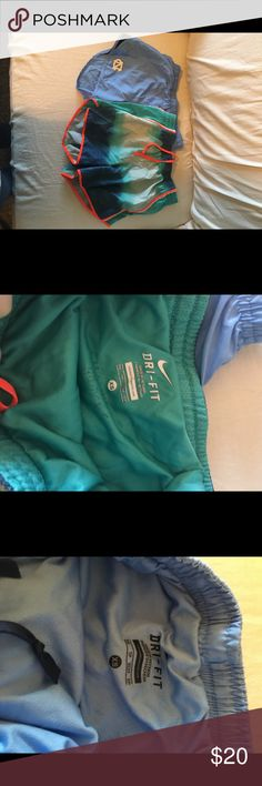 Nike Shorts Bundle! Cute and lightly worn! My cousins name is written in one on the inside. Nike Shorts