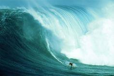 #surf #hawaii Hawaii has the most memorizing waves during the winter seasons!