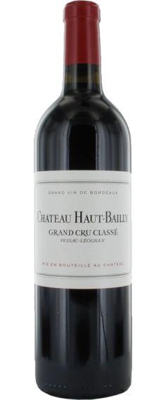 Château Haut-Bailly 2001 - Cru Classé de Graves - 17.5/20 : Si le nez est discret. la bouche de Haut-Bailly 2001 est dense. compacte. serrée. avec une belle matière. Paradoxalement. il ne s'exprime pas entièrement... En savoir plus : http://avis-vin.lefigaro.fr/vins-champagne/bordeaux/graves/pessac-leognan/d12478-chateau-haut-bailly/v12479-chateau-haut-bailly/vin-rouge/2001#ixzz3Pdg9m72C