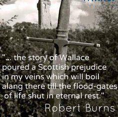 Robert Burns quote