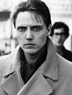 A young Christopher Walken-I love him, but something about him also terrifies me. I think its the eyes