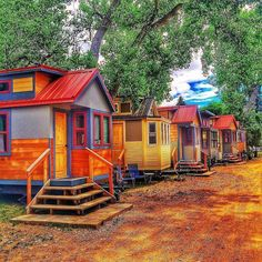 The Wee Casa Tiny House Hotel in Lyons, CO.