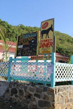 Best breakfast on the island!  Donkey Diner -Coral Bay -St John -USVI