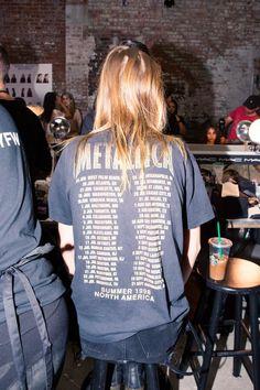 Backstage at Proenza Schouler Spring 2017: Metallica | coveteur.com