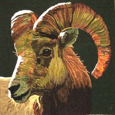 ANAJON Rug Hooking - designed & hooked by Jon Ciemiewicz -- AMAZING is all I can say!
