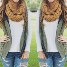 We're here to make fall layering easy for you!!  Country Cottage Scarf…