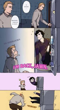 Sherlock is back..