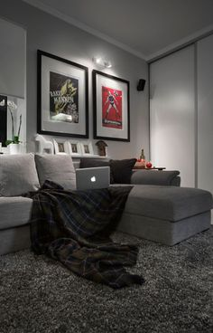 Cozy Tv Room Setup 9 Bachelor Apartment Decor Men Bedroom
