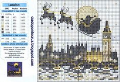 Santa around the world - London
