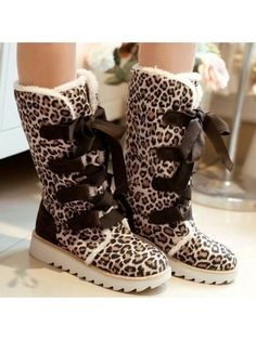 Casual Fashionable&chic Warm Flat-boot