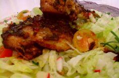Jamaicai íz varázs… Egyszerű, izgalmas, ízletes... Mennyei és a végeredmény gyönyörű és izgalmasan finom sült csirke. Ezt nem lehet kihagyni, ki kell próbálni… : :) Recept itt a blogomon: http://klarisszafalatozoja.cafeblog.hu/2014/04/06/jamaicai-iz-varazs/