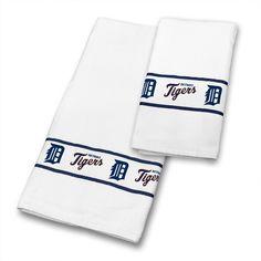 Detroit Tigers Towel Set at www.SportsFansPlus.com
