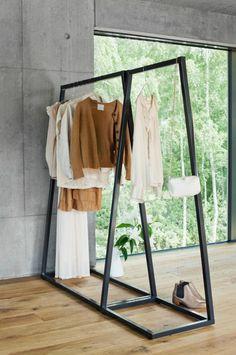 행거200% 활용하기 옷방인테리어 드레스룸인테리어 침실과 함께 어울리게 행거 인테리어하기 : 네이버 블로그