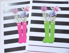 Preppy Note Card Set of Blank Note Cards, Floral Cards, Friendship Cards, Floral Thank You Cards, rbnc Friendship Note, Friendship Cards, Baby Shower Thank You Cards, Wedding Thank You Cards, Thank You Greetings, Custom Cards, Funny Cards, Bridesmaid Gifts, Note Cards