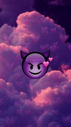 Devil in love wallpaper by unknxwnn - - Free on ZEDGE™ Emoji Wallpaper Iphone, Cute Emoji Wallpaper, Mood Wallpaper, Bear Wallpaper, Iphone Background Wallpaper, Cute Disney Wallpaper, Butterfly Wallpaper, Cute Cartoon Wallpapers, Pretty Wallpapers