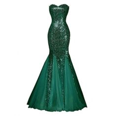 Winnie Bride Sparkly Sequins Evening Prom Ball Gown Mermaid Long... ($44) ❤ liked on Polyvore featuring dresses, gowns, white evening dresses, white cocktail dress, long evening gowns, formal evening gowns and sequin evening dresses