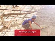 Lajes Nervuradas Tuper: É uma tecnologia que se utiliza do emprego de tubos de aço, unidos através do uso de braçadeira para construção de estruturas Building Systems, Youtube, Safety, Tecnologia, Youtubers, Youtube Movies