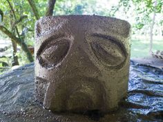 How to make your own concrete head planter from 10 Degrees Above