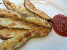 Parmesan Fries and Ketchup