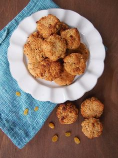 No Added Sugar Gluten Free Cinnamon-Spice Raisin Cookies