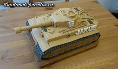 army tank how to Army Tank Cake, Army Cake, Military Party, Army Party, Engineering Cake, Cake Decorating Tutorials, Cake Designs, Fondant, Cupcakes