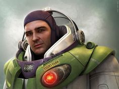 Realistic Buzz Lightyear by Raoni Nery! Pixar's Toy Story Character Comes to Life! Realistic Cartoons, Realistic Drawings, Cartoon Drawings, Face Drawings, 3d Cartoon, Cartoon Images, Funny Images, Funny Pics, Hilarious